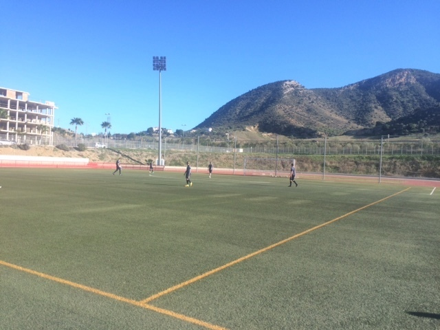 Trainingsaccommodatie trainingskamp Torremolinos
